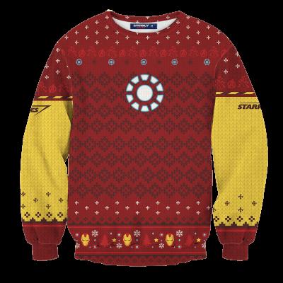 A Very Stark Christmas Unisex Wool Sweater FDM0310 S Official Otaku Treat Merch
