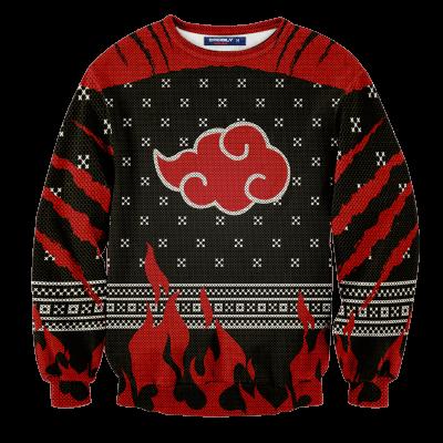 Akatsuki Pride Christmas Unisex Wool Sweater FDM0310 S Official Otaku Treat Merch