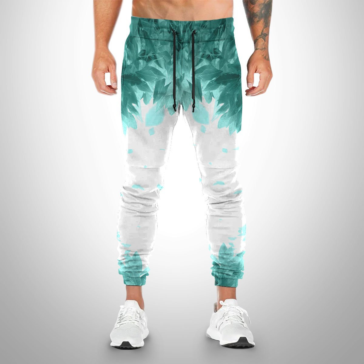 aoba johsai green leaf jogger pants 554975 - Otaku Treat