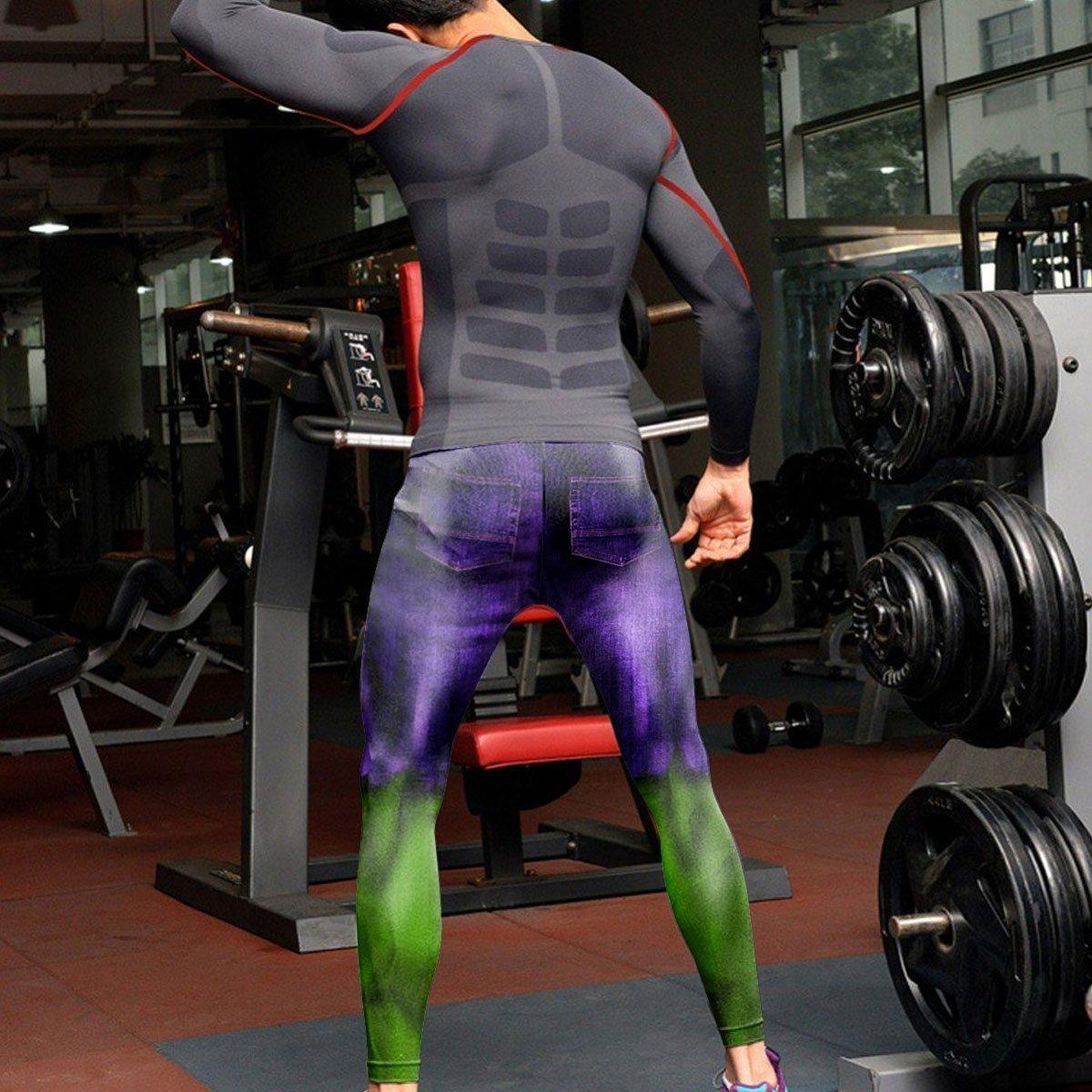 big green monster unisex tights v2 819295 - Otaku Treat