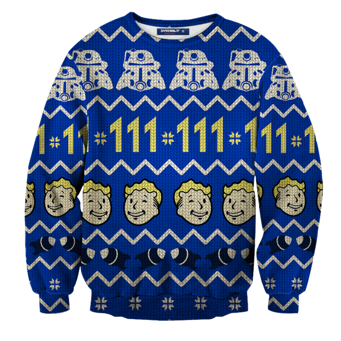 Bunker Holiday Unisex Wool Sweater FDM0310 S Official Otaku Treat Merch