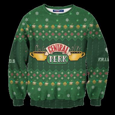 Central Perk Unisex Wool Sweater FDM0310 S Official Otaku Treat Merch