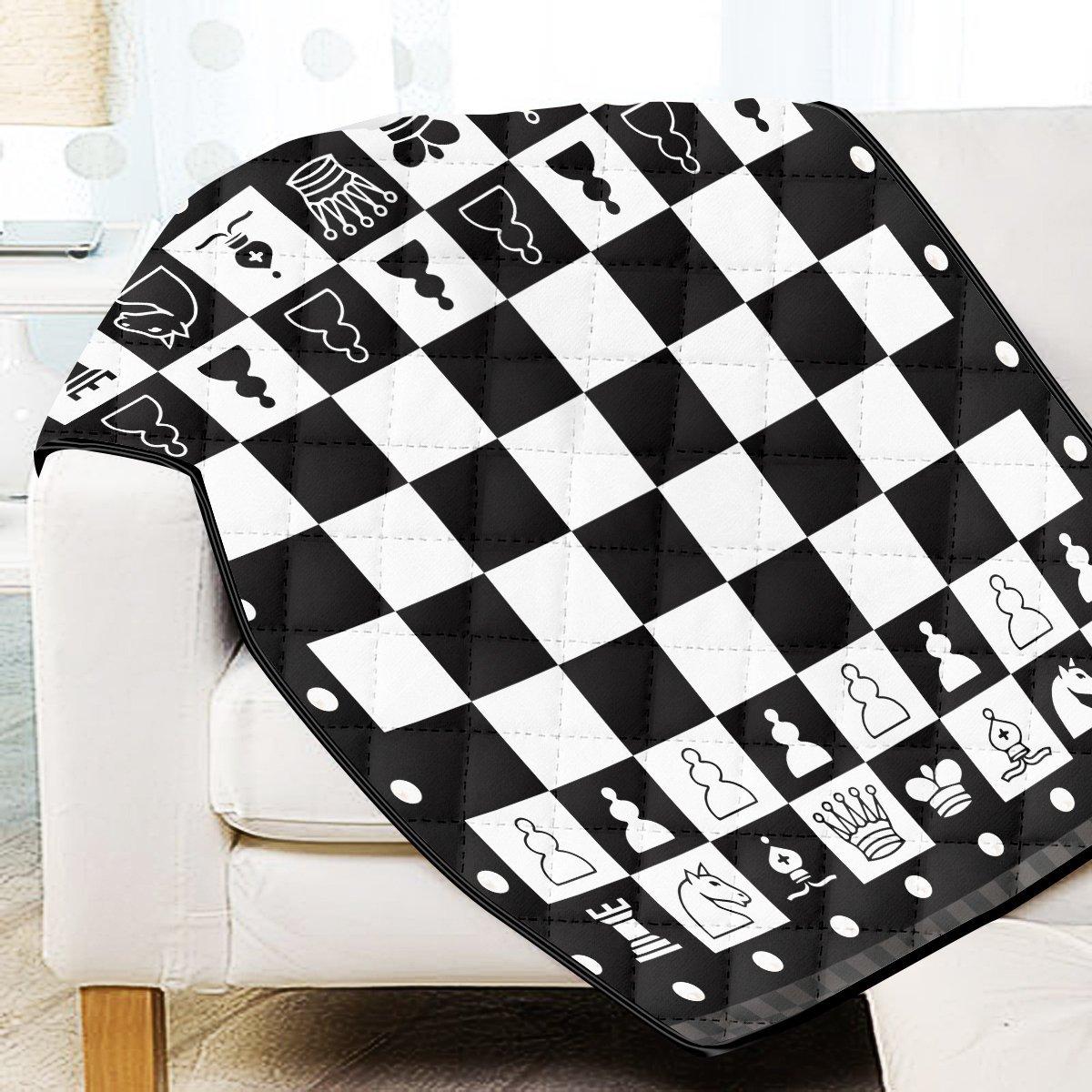 Chessboard Quilt Blanket Official Merch FDM3009 Twin Official Otaku Treat Merch