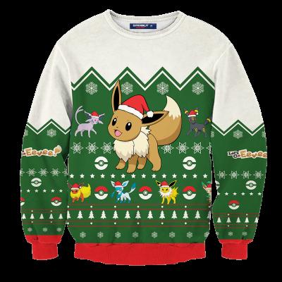 Christmas Evee Unisex Wool Sweater FDM0310 S Official Otaku Treat Merch