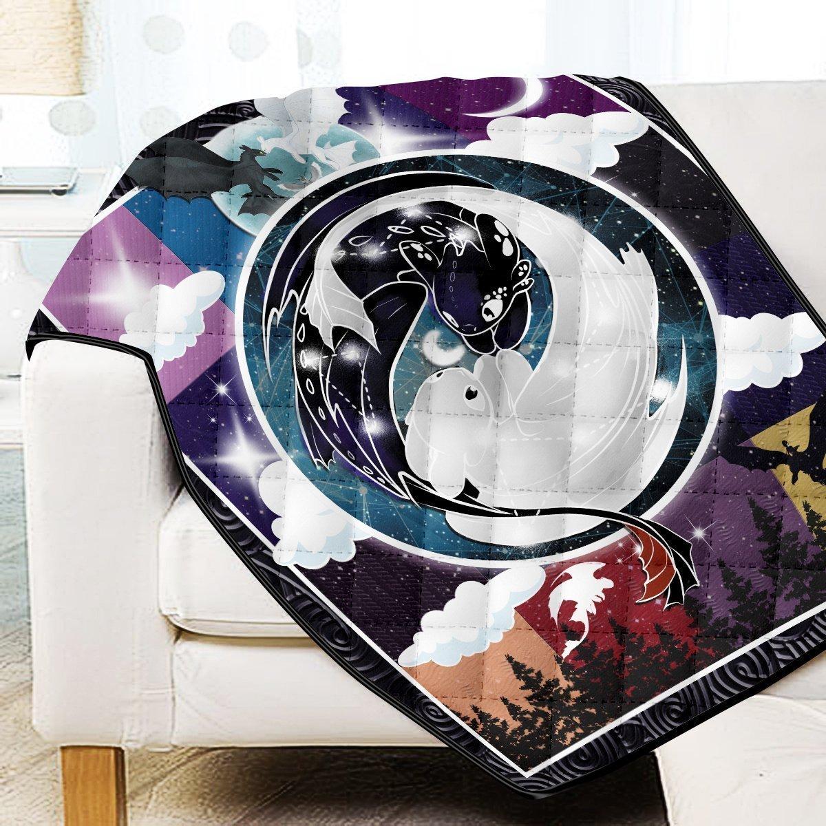Constellation Dragons Quilt Blanket Official Merch FDM3009 Twin Official Otaku Treat Merch