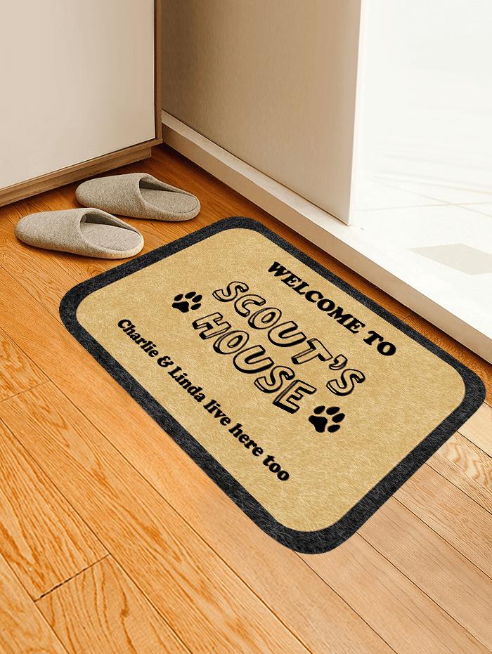 Customized Welcome to my House Carpet/Rug Official Merch FDM3009 S Official Otaku Treat Merch