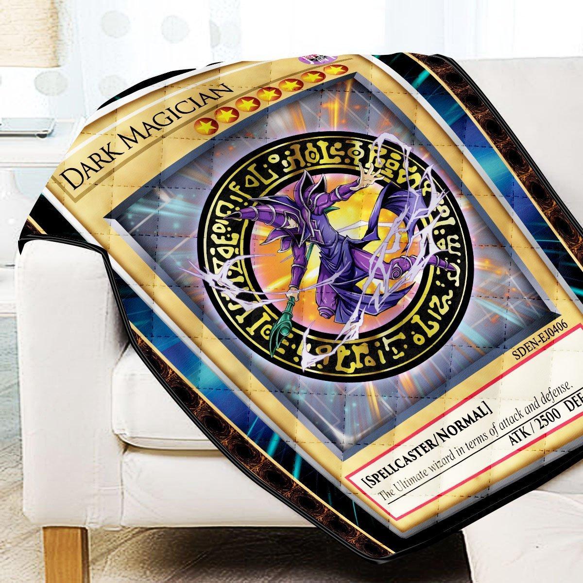 Dark Magician Quilt Blanket Official Merch FDM3009 Twin Official Otaku Treat Merch
