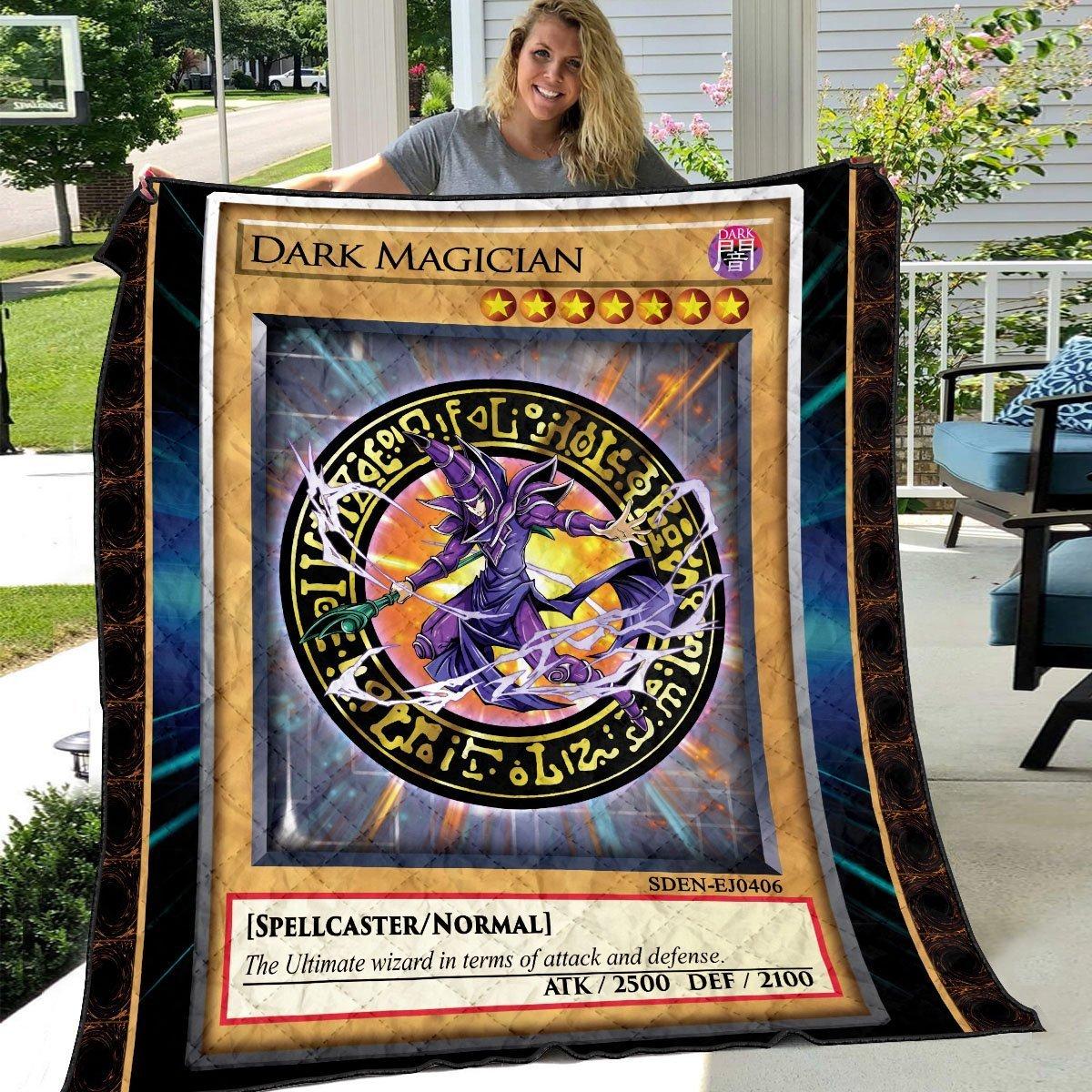 dark magician quilt blanket 965177 - Otaku Treat