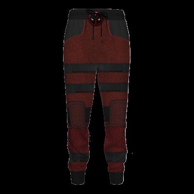 Deadpool Jogger Pants Official Merch FDM3009 S Official Otaku Treat Merch