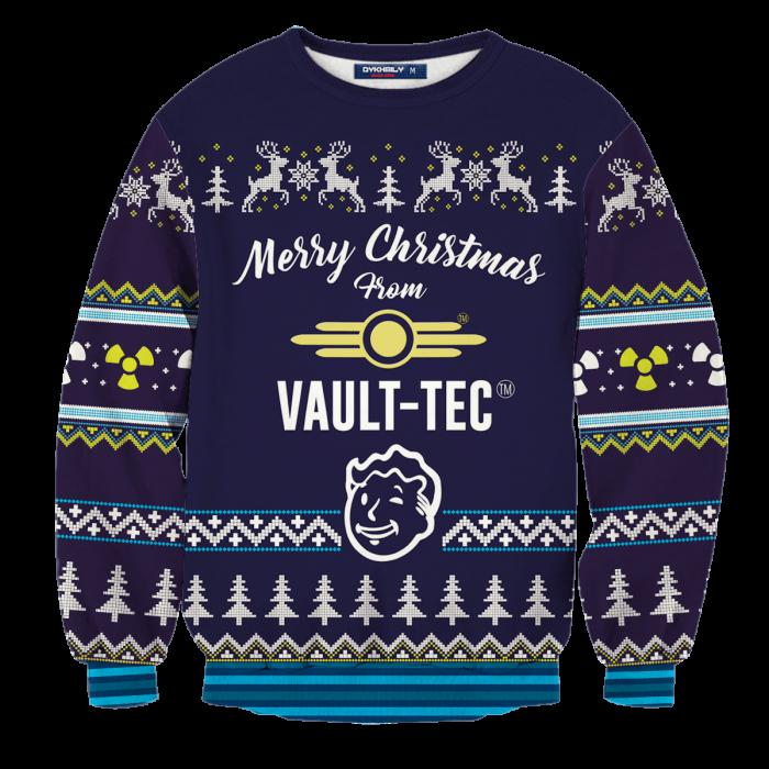 Dweller Boy Christmas Unisex Wool Sweater FDM0310 S Official Otaku Treat Merch