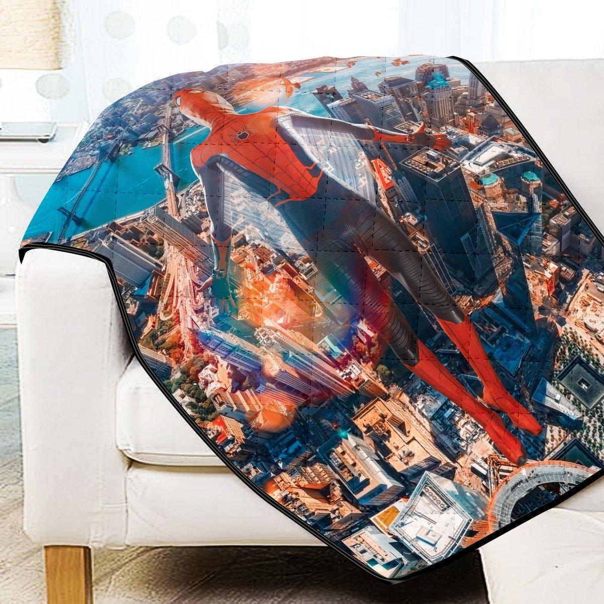 Friendly Neighborhood Hero - Signed Quilt Blanket Official Merch FDM3009 Twin Official Otaku Treat Merch