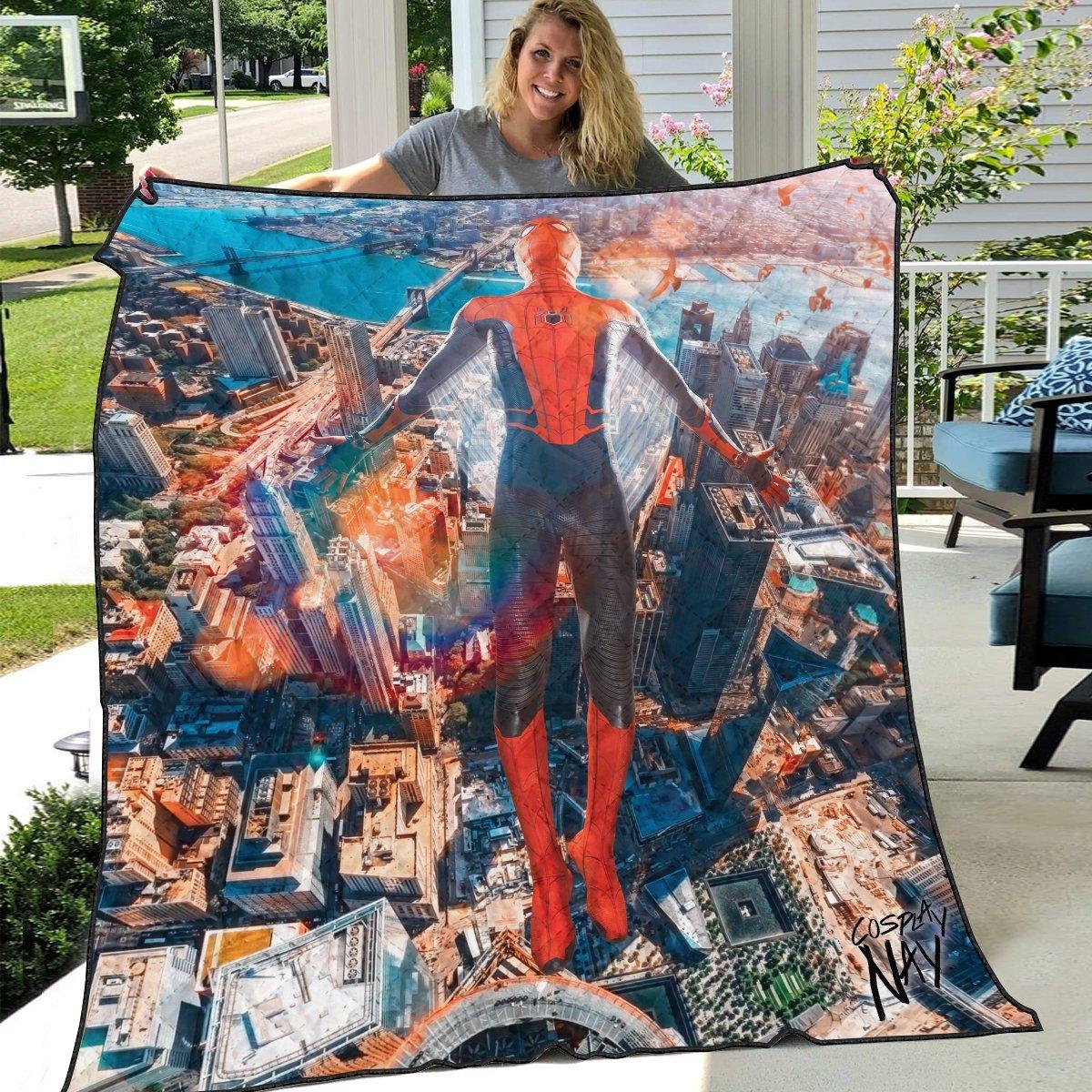 friendly neighborhood hero signed quilt blanket 621126 - Otaku Treat