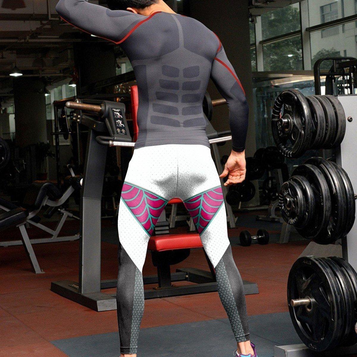ghost spider unisex tights v2 569821 - Otaku Treat