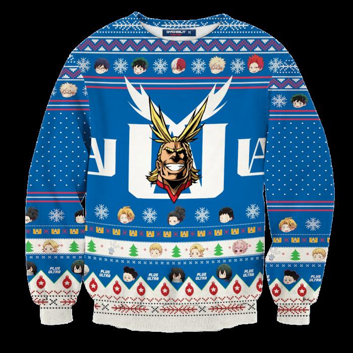 Go Beyond, Plus Ultra Unisex Wool Sweater FDM0310 S Official Otaku Treat Merch