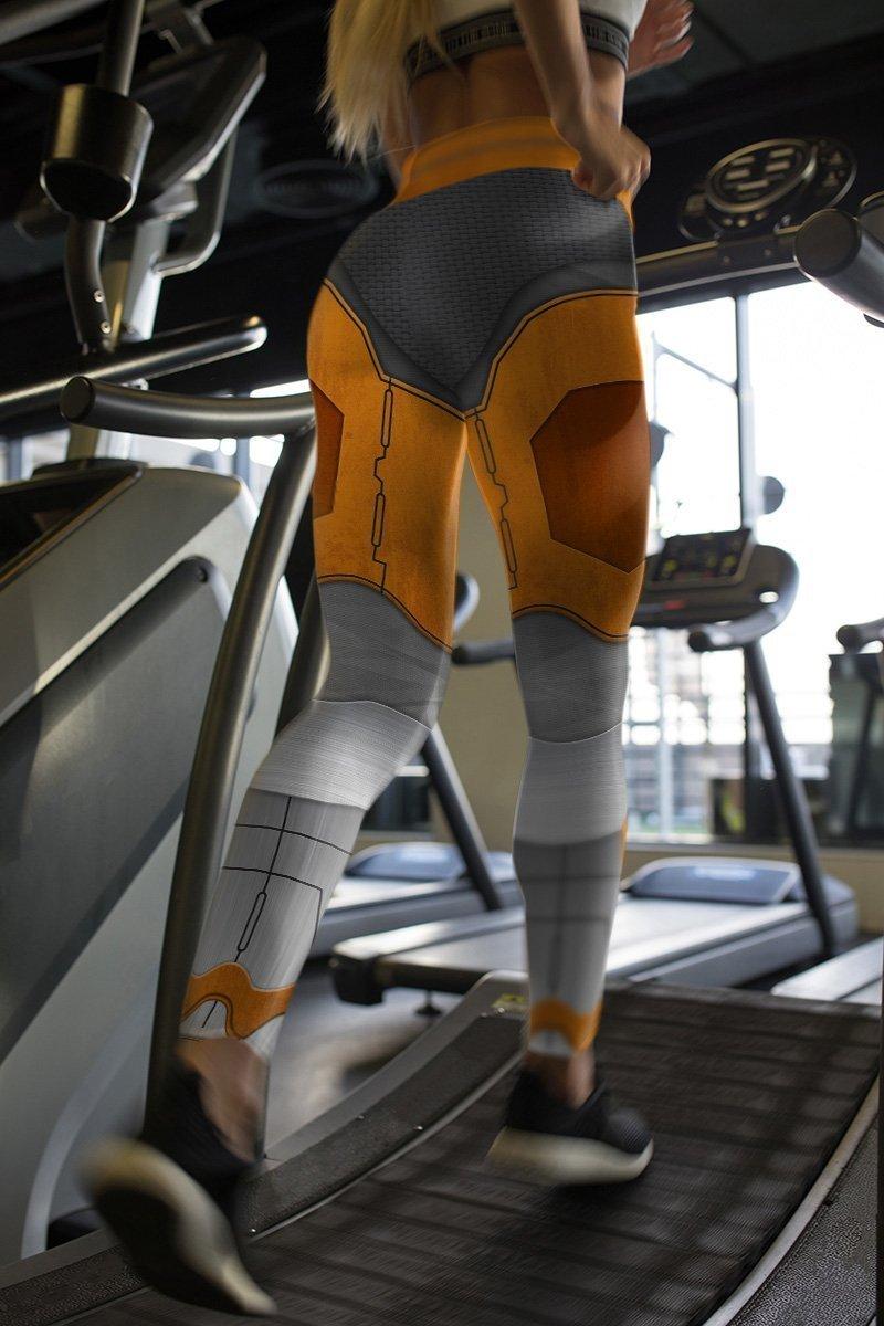 gordon freeman unisex tights v2 727521 - Otaku Treat