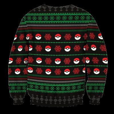 Gotta Catch Em All Unisex Wool Sweater FDM0310 S Official Otaku Treat Merch