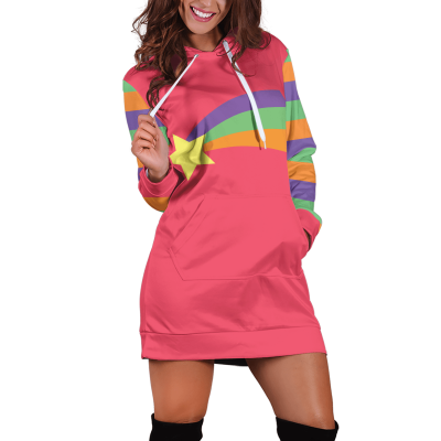 Gravity Falls Mabel Pines Cosplay Hoodie Dress Official Merch FDM3009 XS Official Otaku Treat Merch