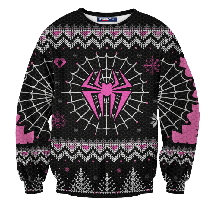 Gwen Christmas Unisex Wool Sweater FDM0310 S Official Otaku Treat Merch