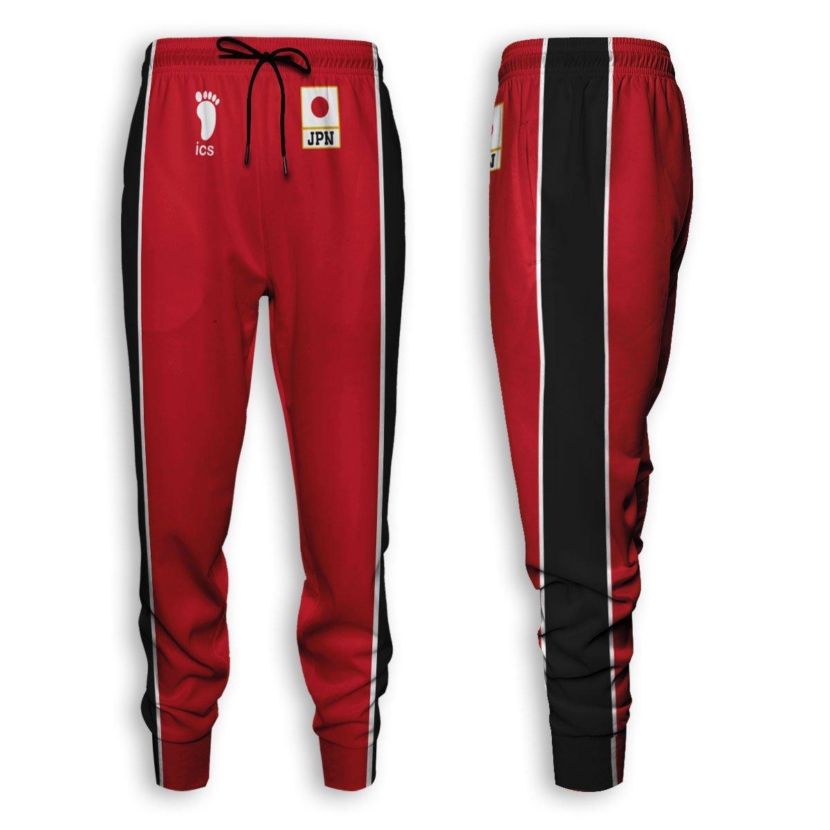 Haikyuu National Team Jogger Pants Official Merch FDM3009 S Official Otaku Treat Merch