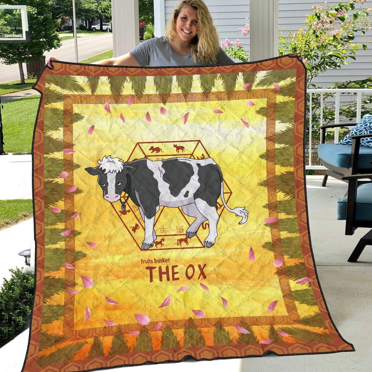 haru the ox quilt blanket 933218 - Otaku Treat