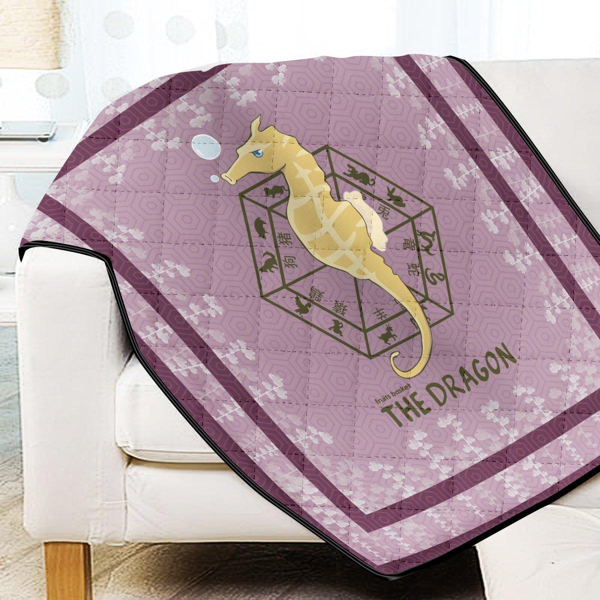 Hatori The Dragon Quilt Blanket Official Merch FDM3009 Twin Official Otaku Treat Merch