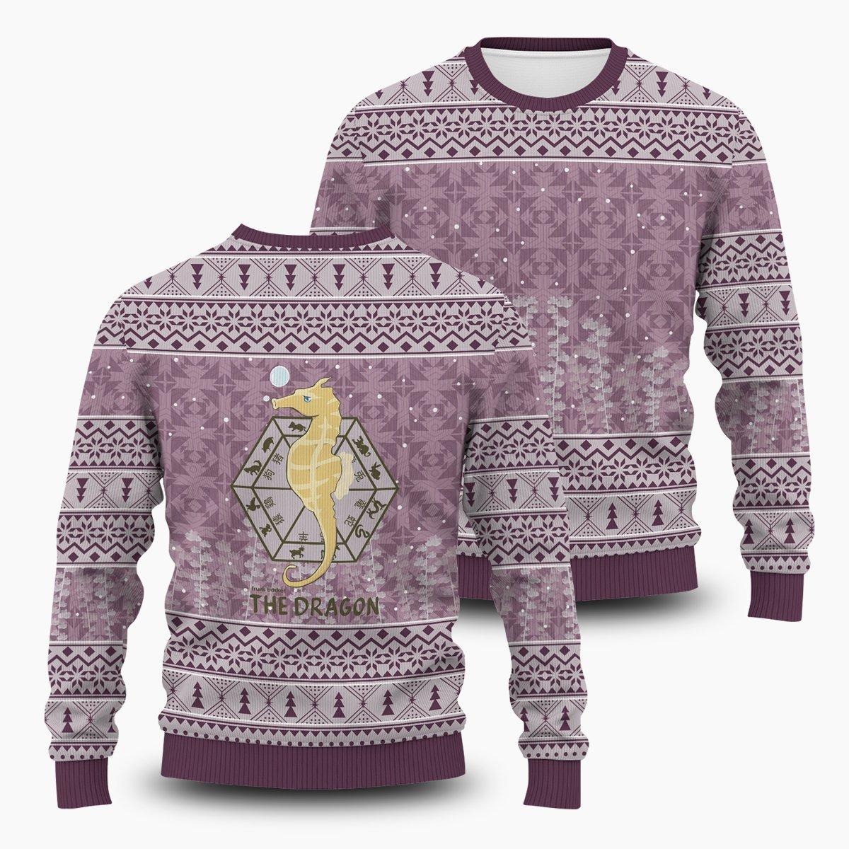 Hatori The Dragon Unisex Wool Sweater FDM0310 S Official Otaku Treat Merch