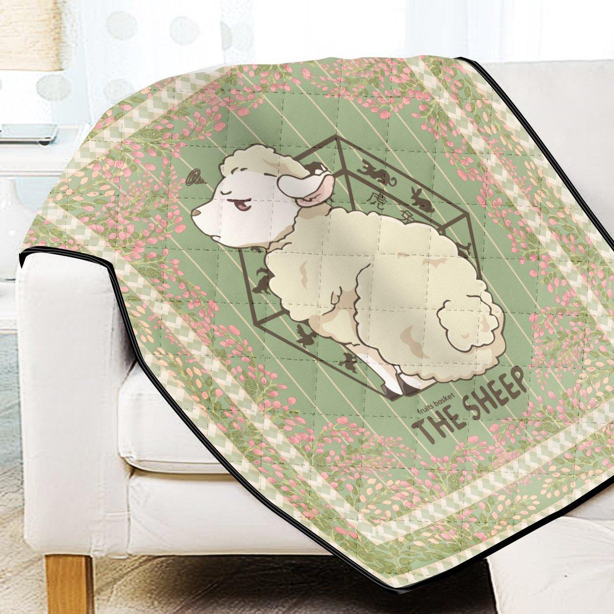 Hiro The Sheep Quilt Blanket Official Merch FDM3009 Twin Official Otaku Treat Merch