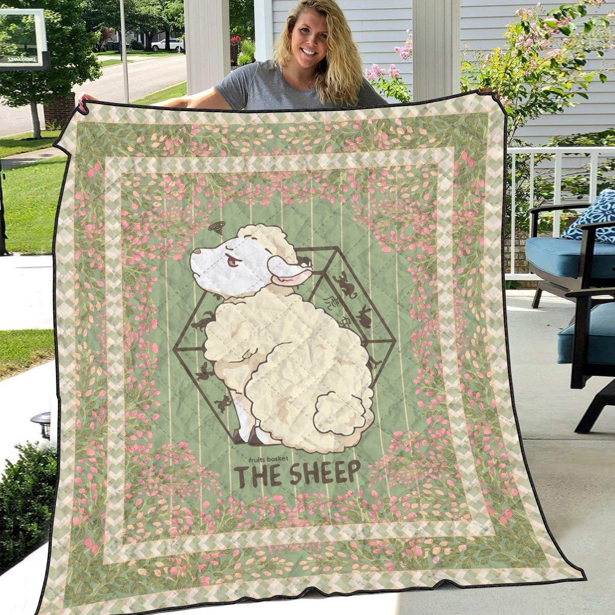 hiro the sheep quilt blanket 631077 - Otaku Treat