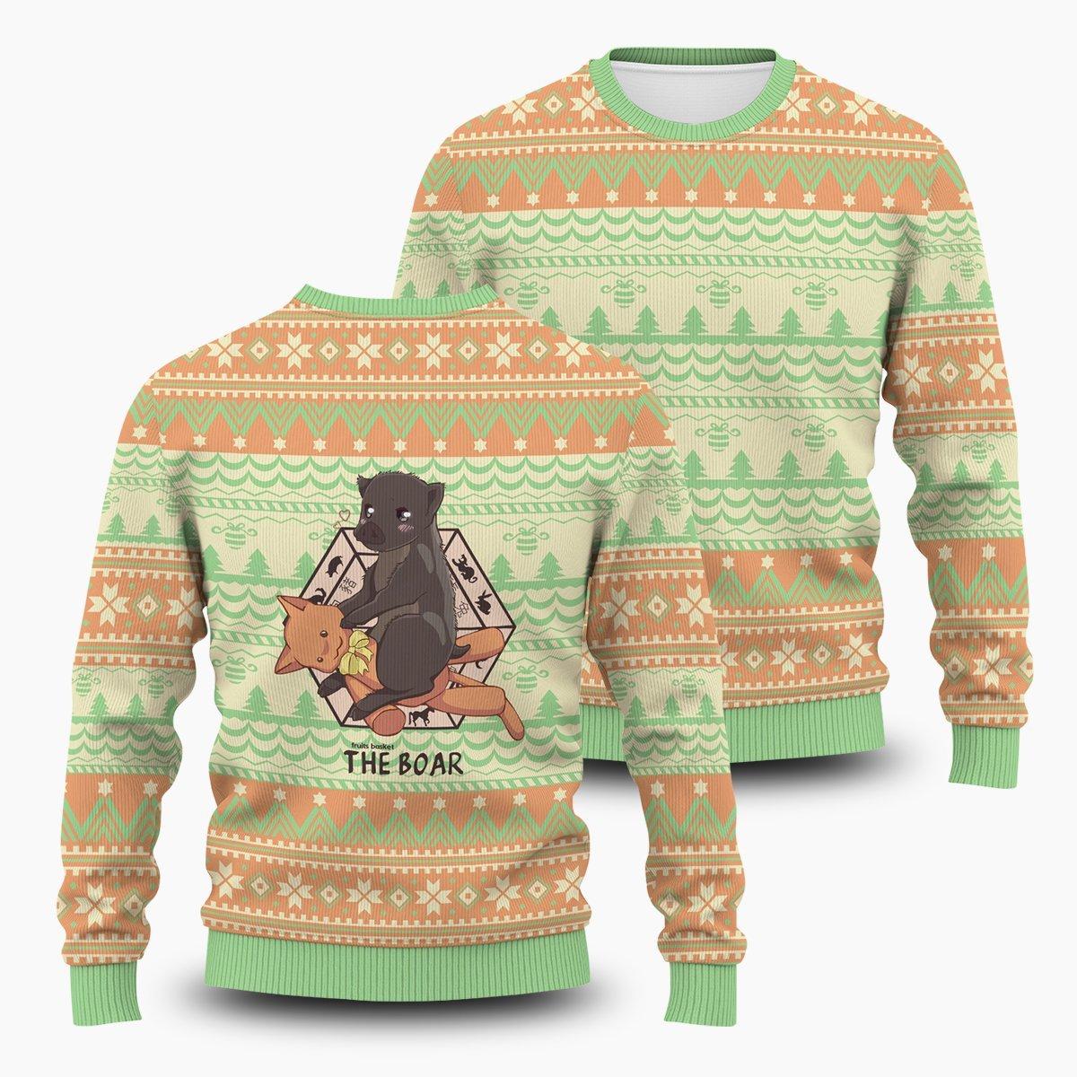 Kagura The Boar Unisex Wool Sweater FDM0310 S Official Otaku Treat Merch