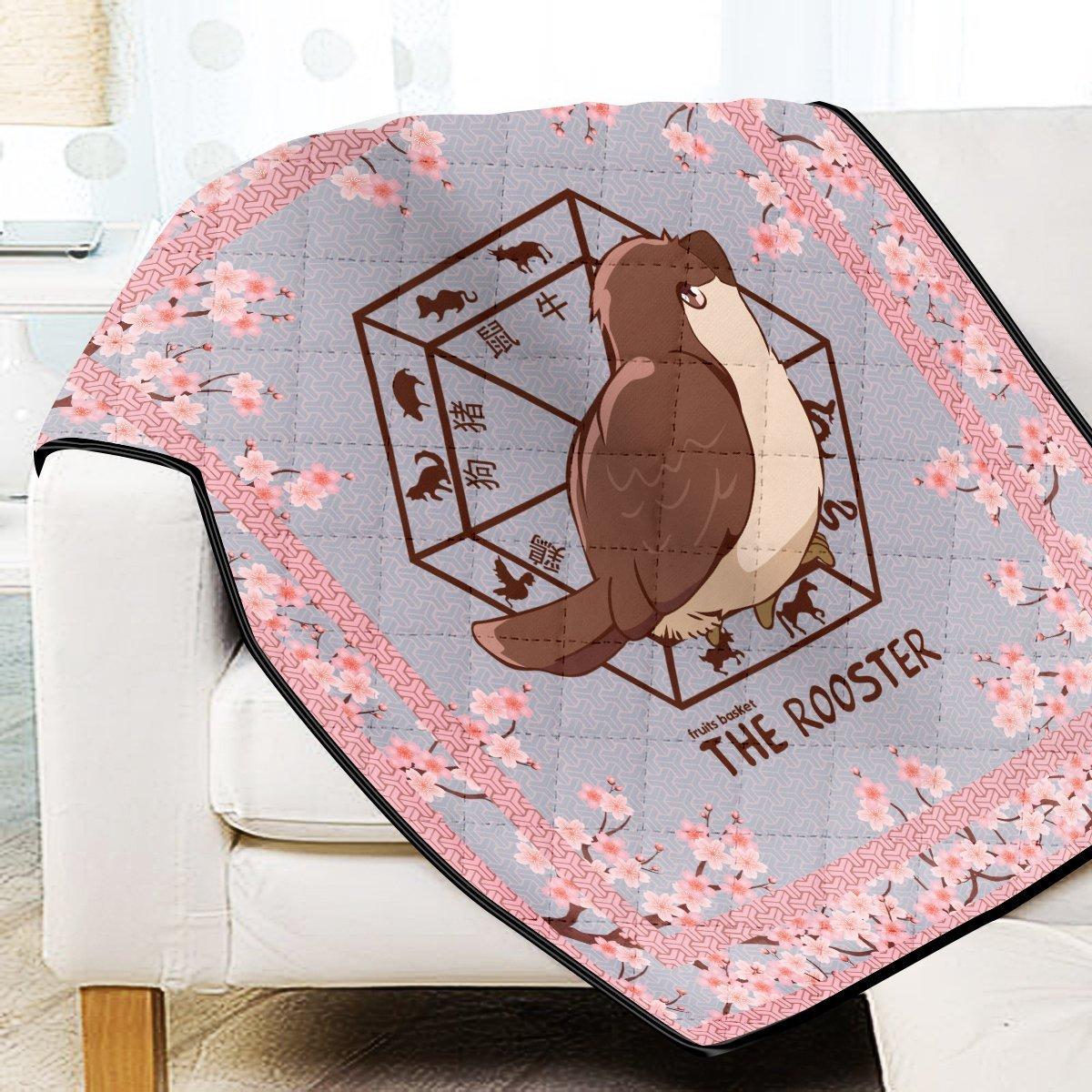 Kureno The Rooster Quilt Blanket Official Merch FDM3009 Twin Official Otaku Treat Merch