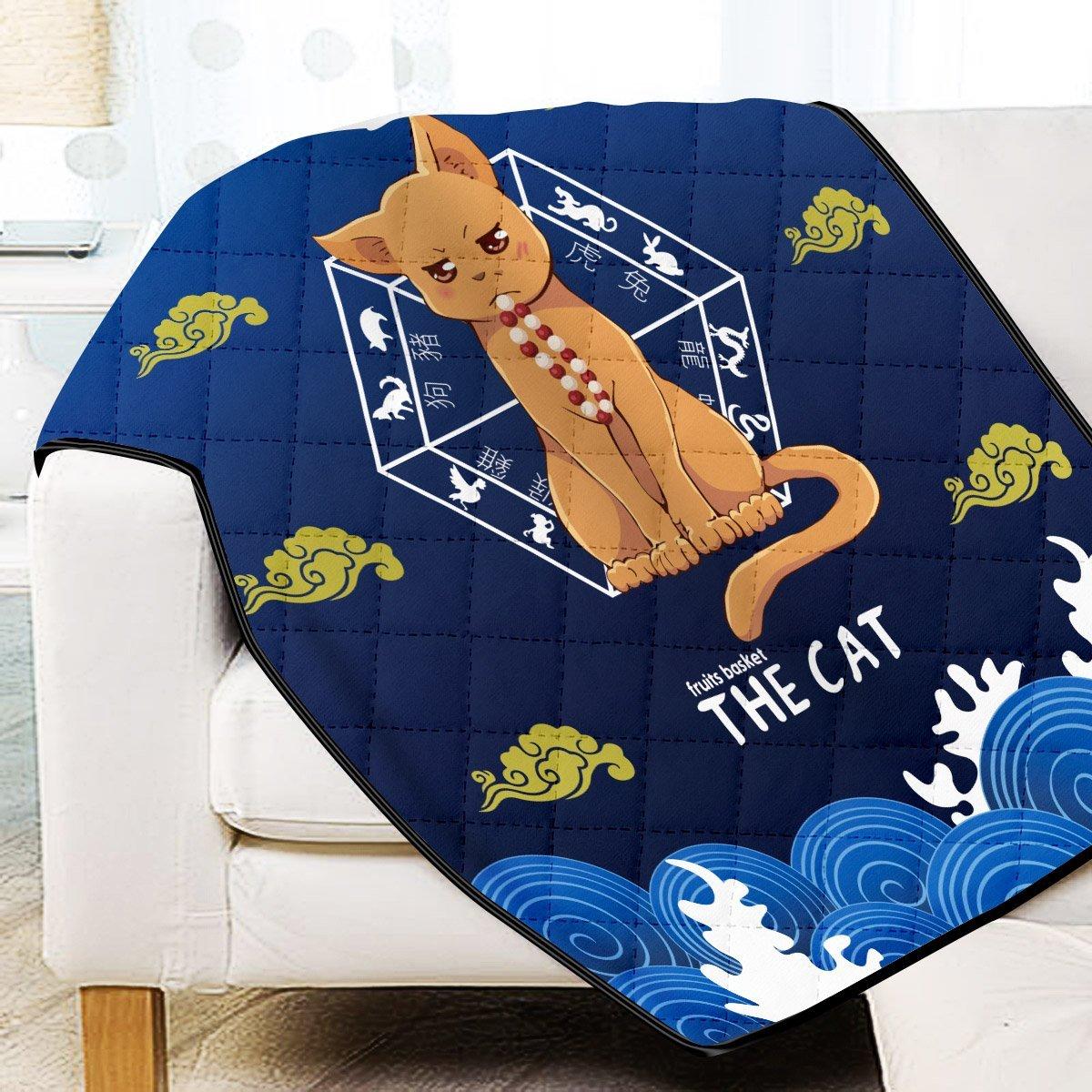 Kyo the Cat Quilt Blanket Official Merch FDM3009 Twin Official Otaku Treat Merch