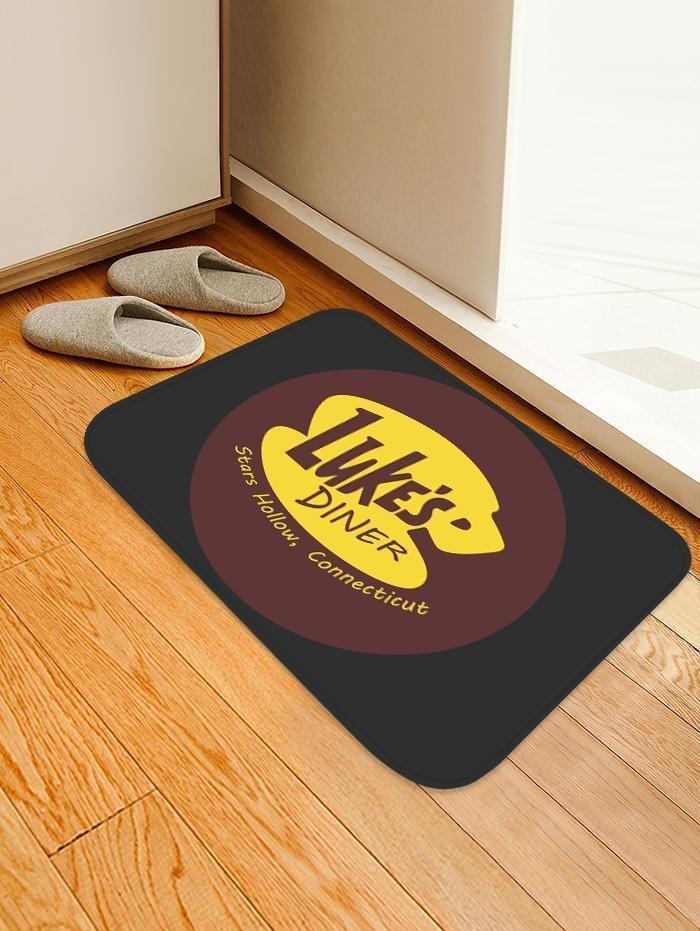 Luke's Diner Carpet/Rug Official Merch FDM3009 Rectangle / S Official Otaku Treat Merch