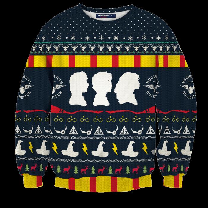 Magical Christmas Unisex Wool Sweater FDM0310 S Official Otaku Treat Merch