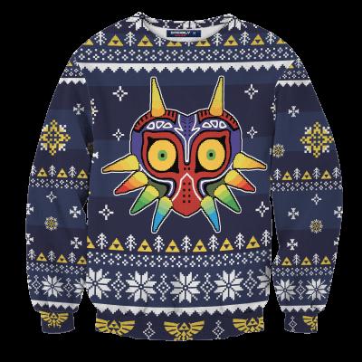 Majora's Mask Unisex Wool Sweater FDM0310 S Official Otaku Treat Merch