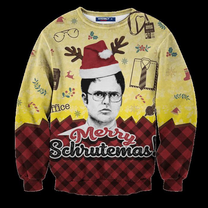 Merry Schrutemas Unisex Wool Sweater FDM0310 S Official Otaku Treat Merch