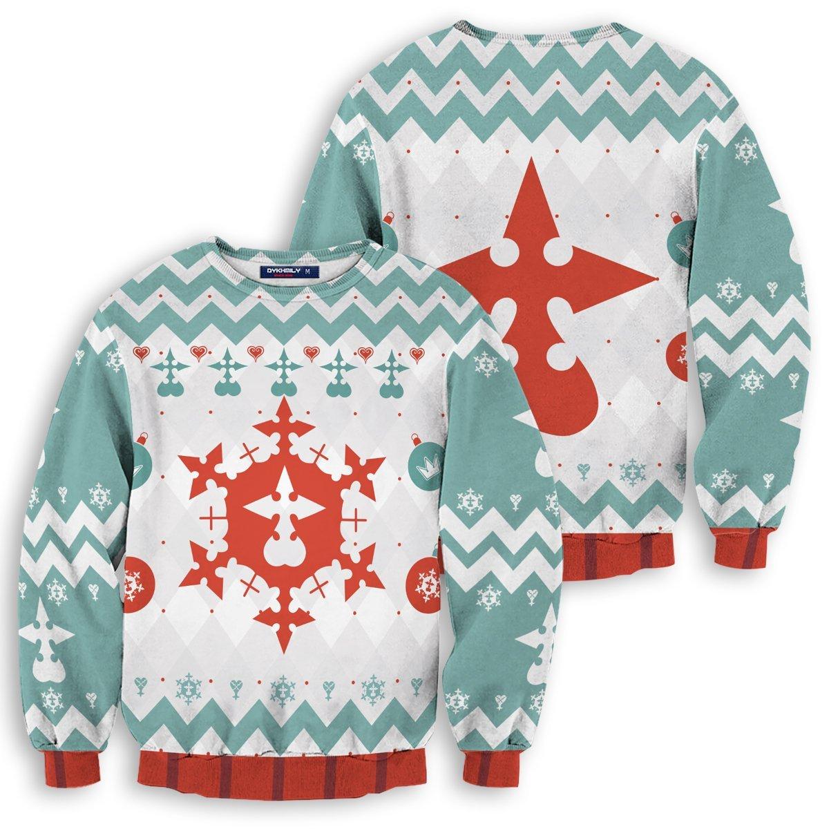 Merry Xemnas Unisex Wool Sweater FDM0310 S Official Otaku Treat Merch