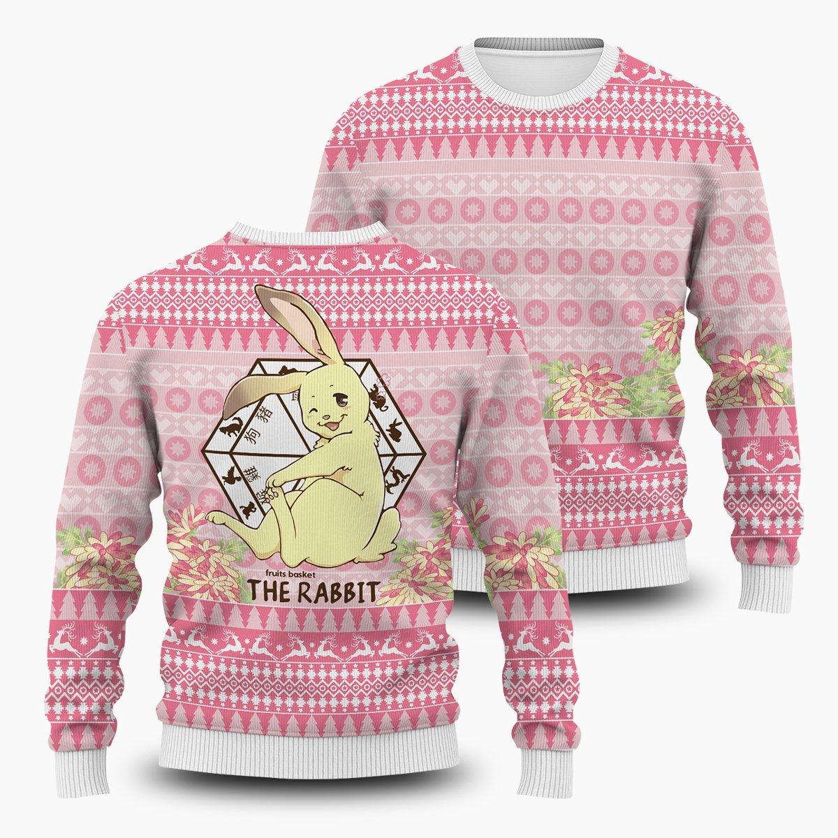 Momiji The Rabbit Unisex Wool Sweater FDM0310 S Official Otaku Treat Merch