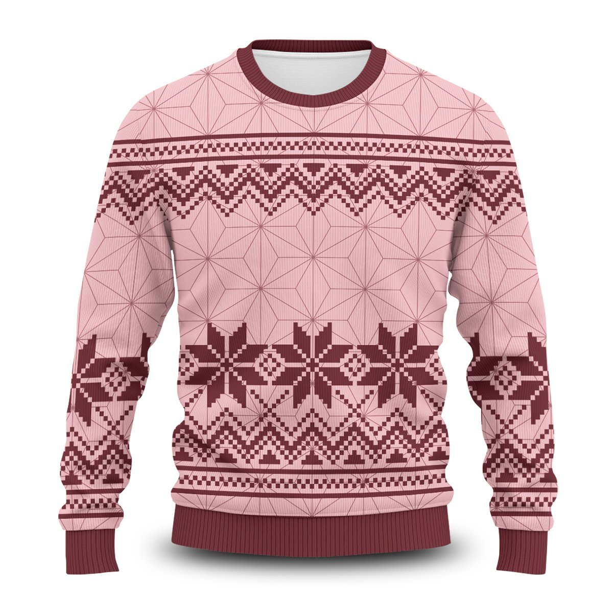 Nezuko Unisex Wool Sweater FDM0310 S Official Otaku Treat Merch