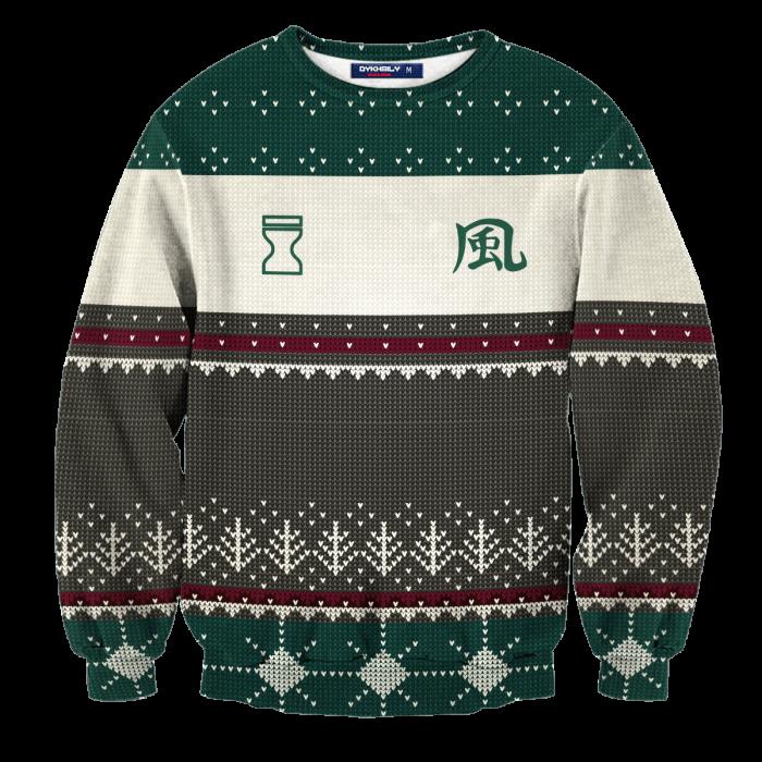 Personalized Hidden Sand Kazekage Unisex Wool Sweater FDM0310 S Official Otaku Treat Merch