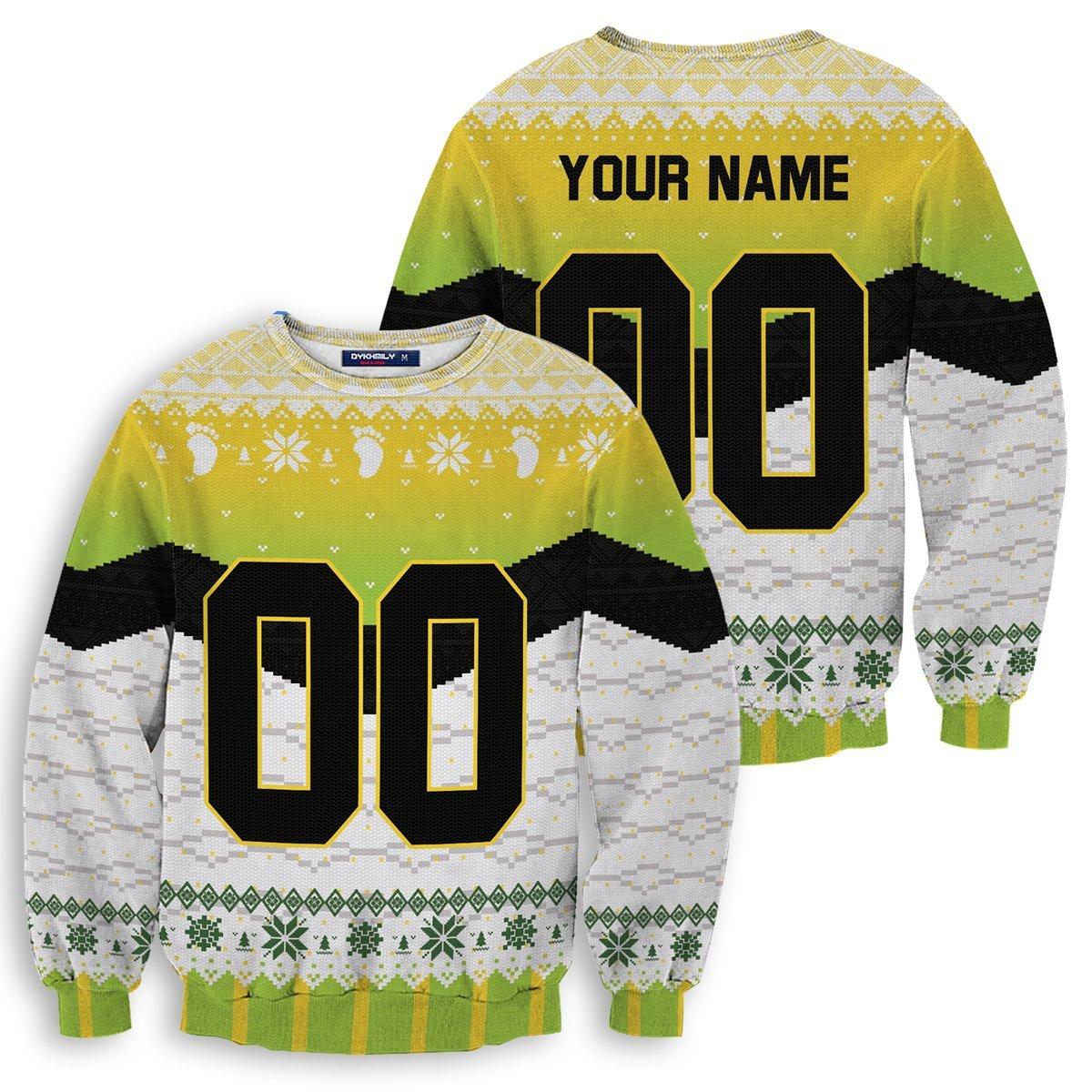 Personalized Itachiyama Christmas Unisex Wool Sweater FDM0310 S Official Otaku Treat Merch