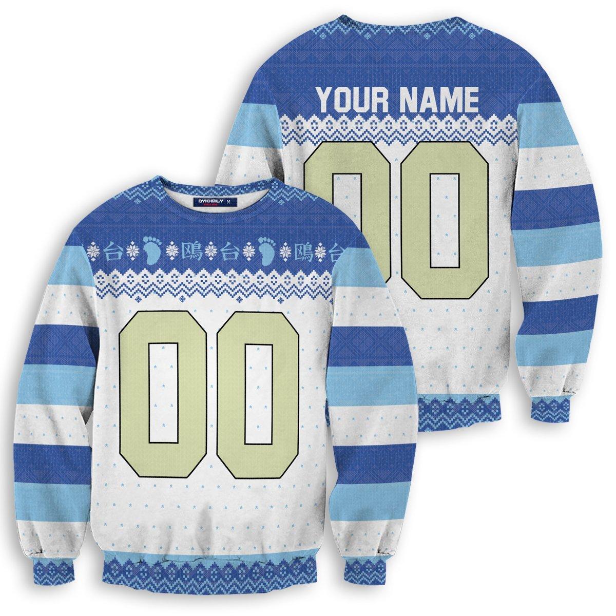 Personalized Kamomedai Christmas Unisex Wool Sweater FDM0310 S Official Otaku Treat Merch