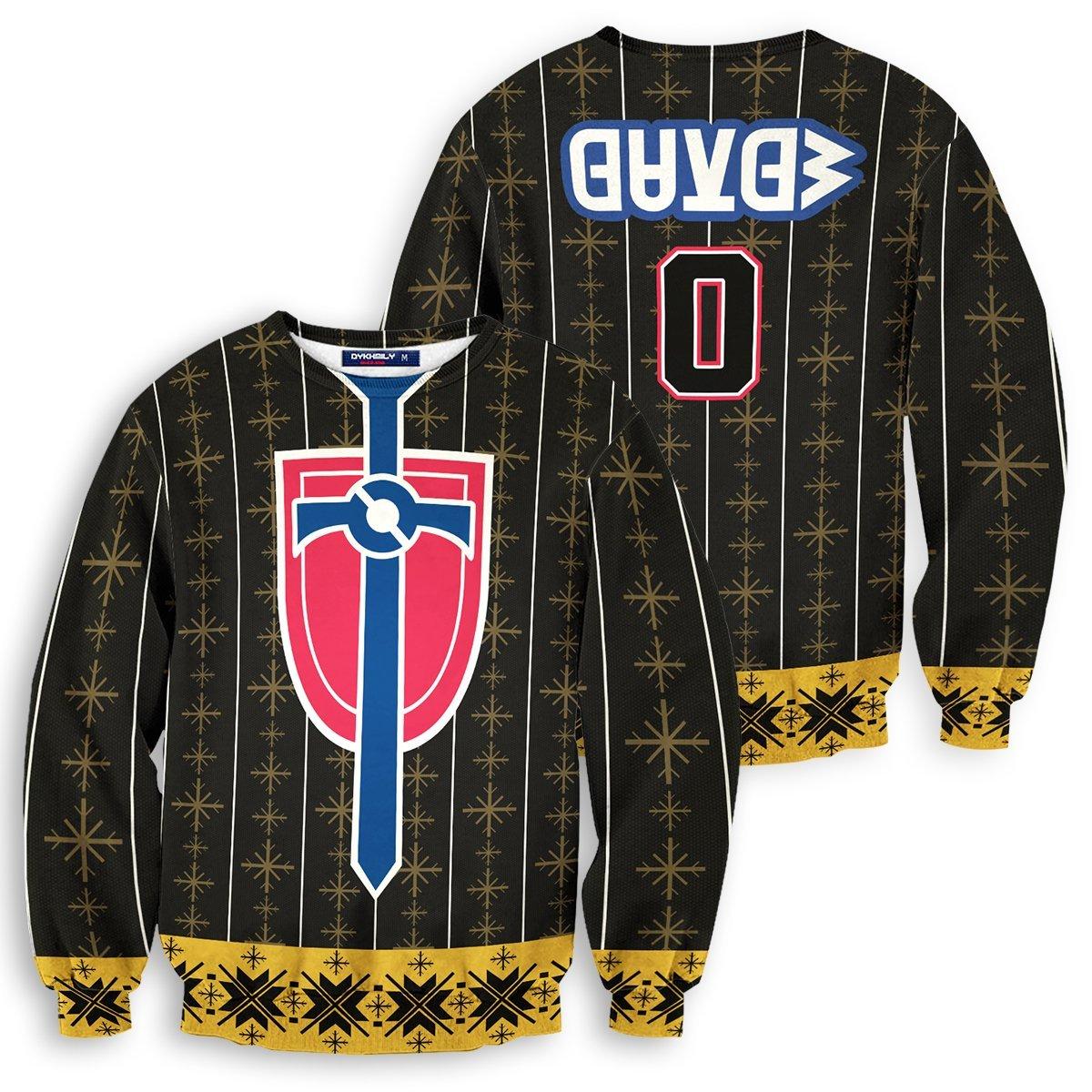 Personalized Pokemon Champion Uniform Unisex Wool Sweater FDM0310 S Official Otaku Treat Merch