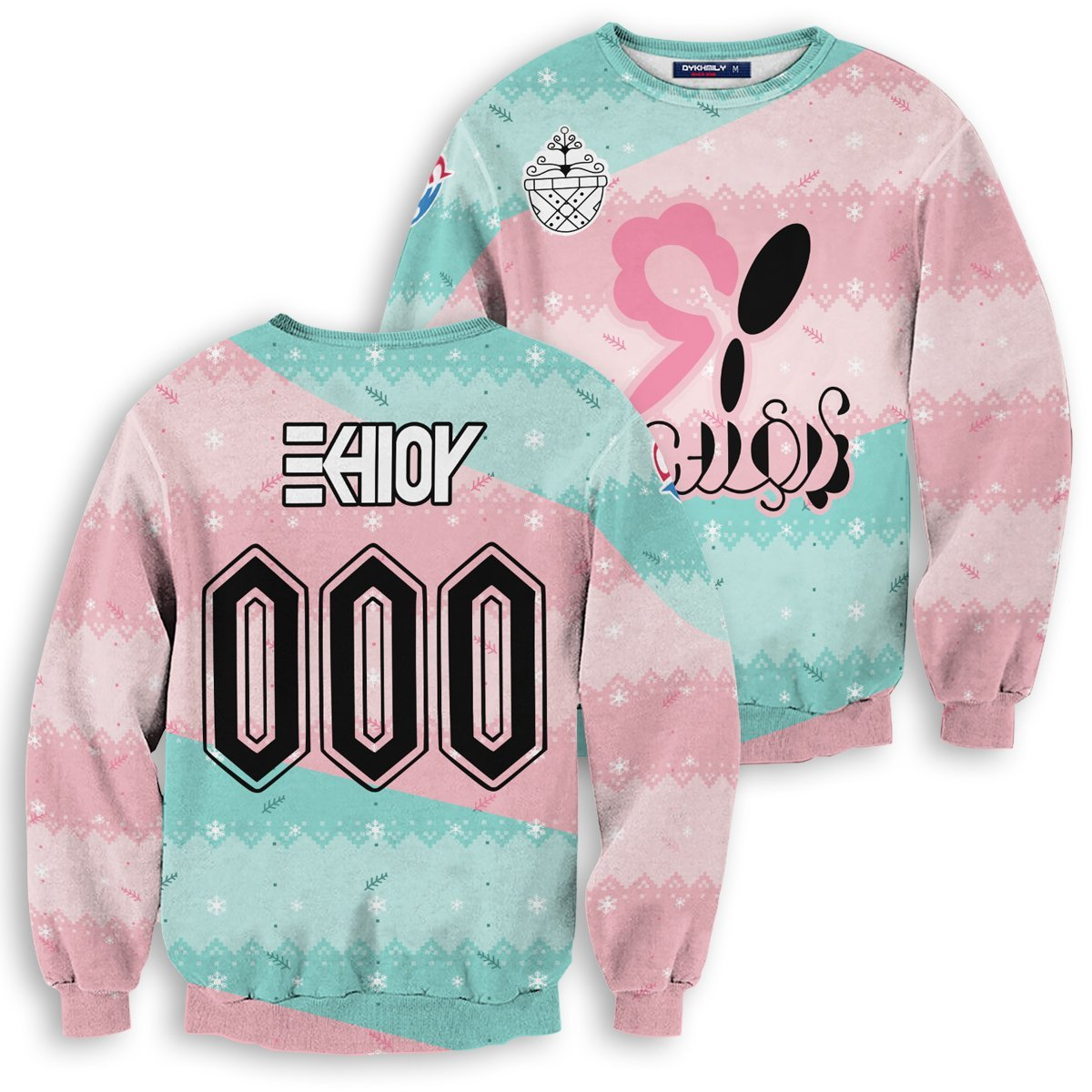 Personalized Pokemon Fairy Uniform Unisex Wool Sweater FDM0310 S Official Otaku Treat Merch