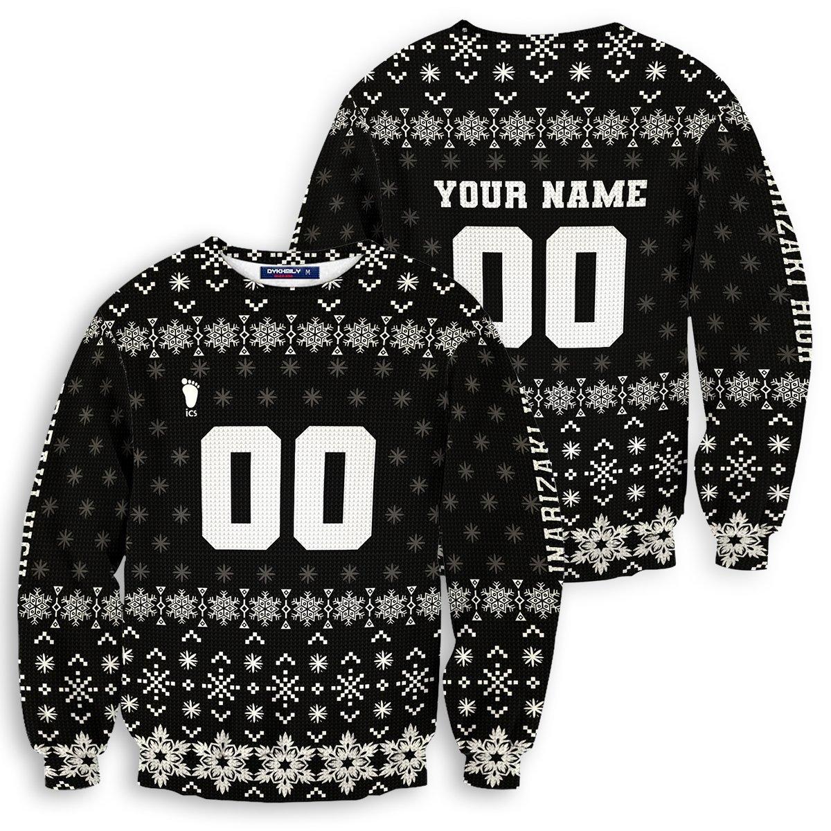 Personalized Team Inarizaki Christmas Unisex Wool Sweater FDM0310 S Official Otaku Treat Merch