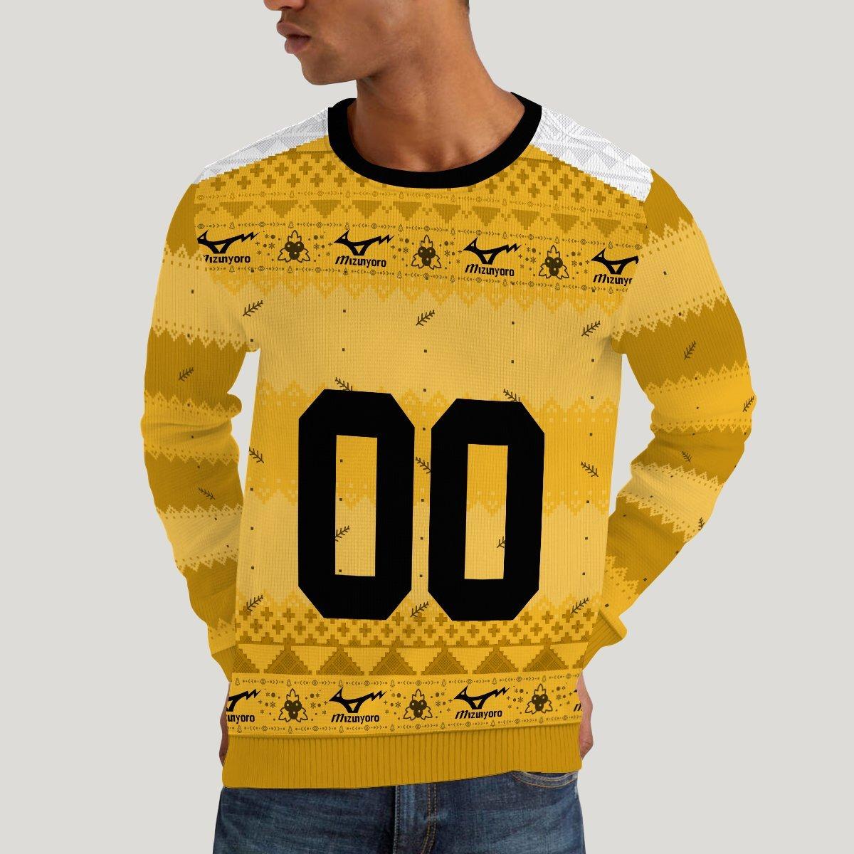 personalized team johzenji christmas unisex wool sweater 552430 - Otaku Treat