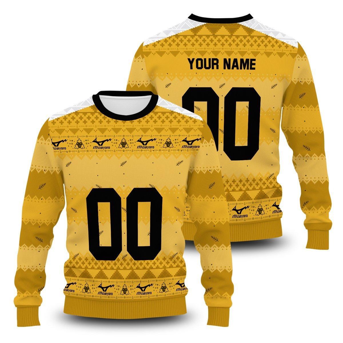 Personalized Team Johzenji Christmas Unisex Wool Sweater FDM0310 S Official Otaku Treat Merch