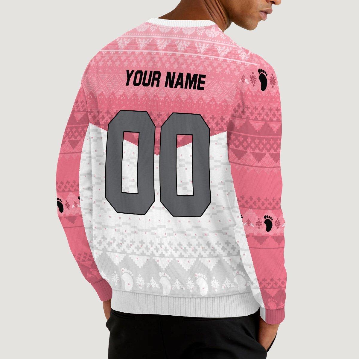 personalized team wakutani unisex wool sweater 153940 - Otaku Treat
