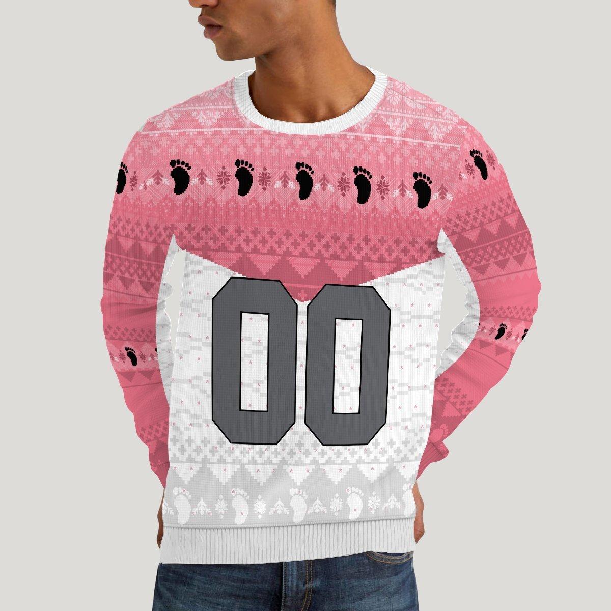 personalized team wakutani unisex wool sweater 211707 - Otaku Treat