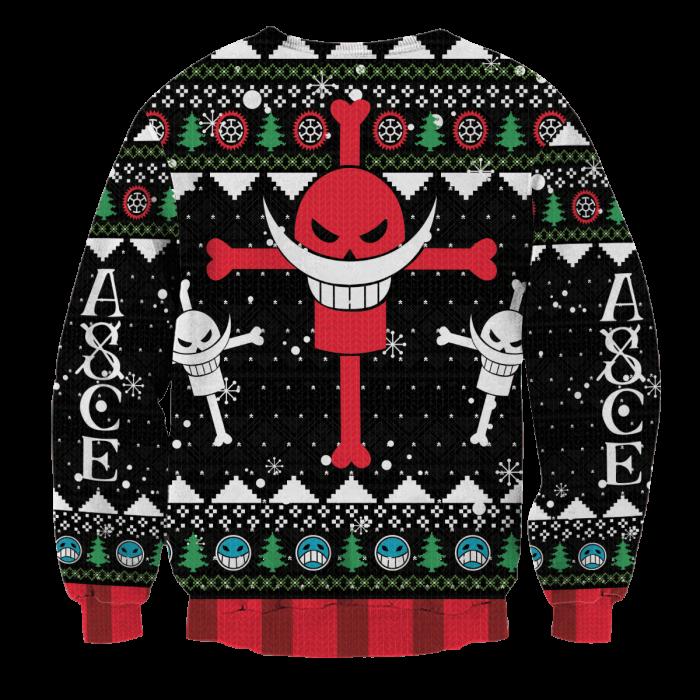 Pirate Ace Unisex Wool Sweater FDM0310 S Official Otaku Treat Merch