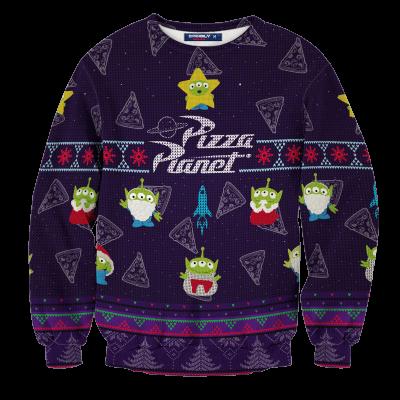 Pizza Planet Unisex Wool Sweater FDM0310 S Official Otaku Treat Merch